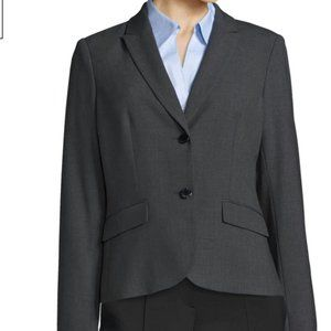 Calvin Klein Grey/Charcoal Suiting Blazer